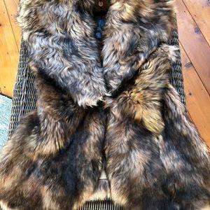 Ralph Lauren lamb fur vest...